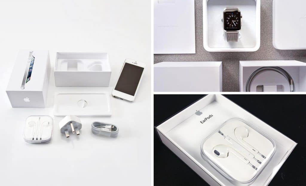 Branded Packaging Experience - Examples of Apples unboxing experience