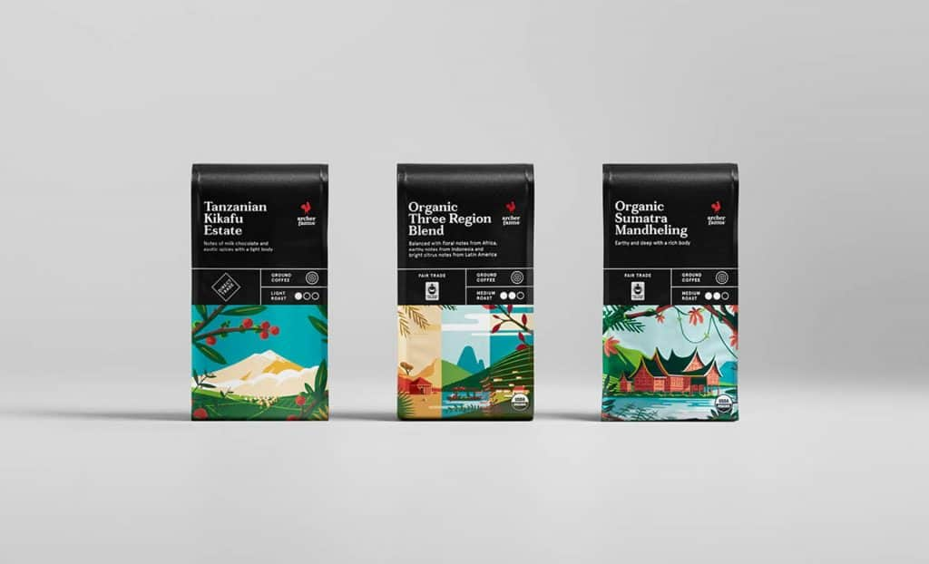 Archer Farms Coffee Packaging
